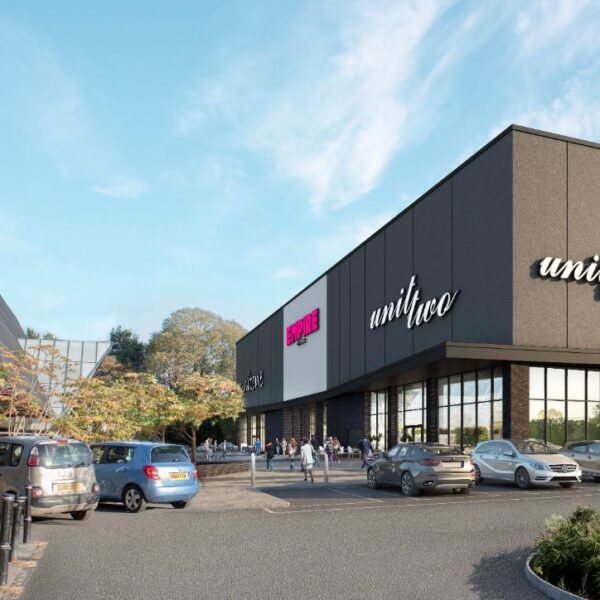 CGI of proposed cinema development at Cameron Toll